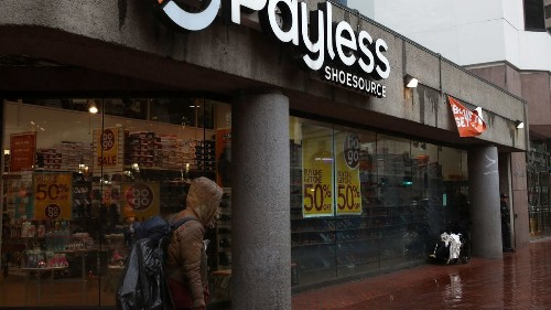 Payless ShoeSource will close all of its remaining U.S. stores