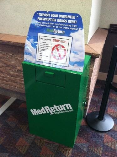Marijuana disposal boxes installed at Colorado airport