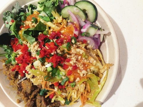 Kaya toast and build your own bowls at Kaya Street Kitchen, the Asian Chipotle