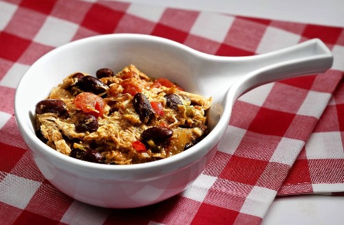 Easy dinner recipe: A big bowl of chicken chili