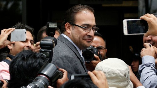 Manhunt launched for former Mexican governor charged with corruption