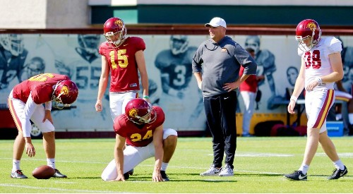 USC is getting up to speed during spring practice