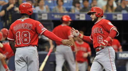 Angels lean on a trio of home runs to power past Rays