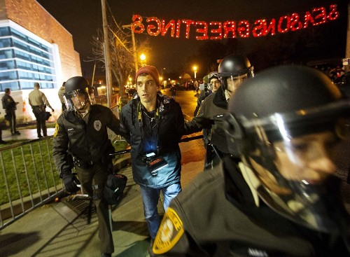 Journalist Trey Yingst arrested during Ferguson, Mo., protests - Los Angeles Times