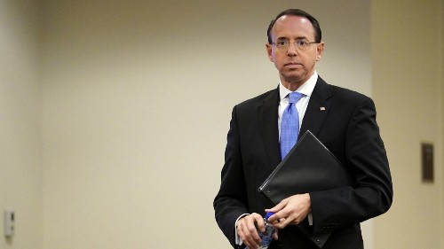 Rod Rosenstein will leave a contentious and consequential legacy