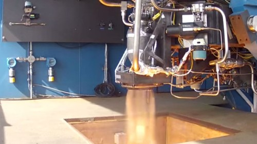SpaceX is launching rockets made with parts produced by a 3-D printer