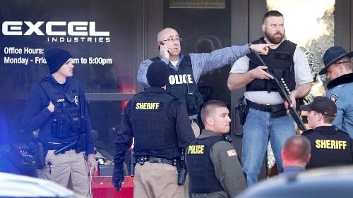 Kansas gunman kills three at his workplace; 14 others are hurt