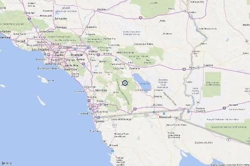 Earthquake: 4.1 temblor strikes near Borrego Springs, Calif. - Los Angeles Times