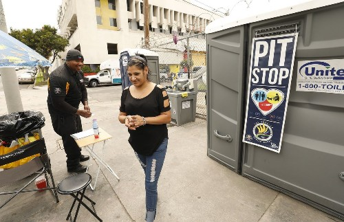 $339,000 for a toilet? L.A. politicians balk at the cost of restrooms for homeless people