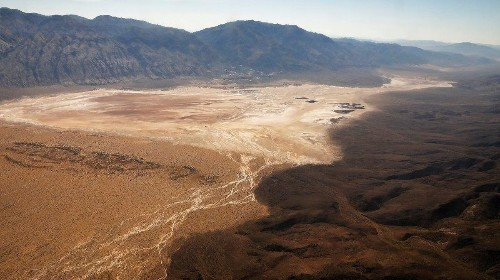 The push to mine in Panamint Valley is a hint that the Earth has too many people