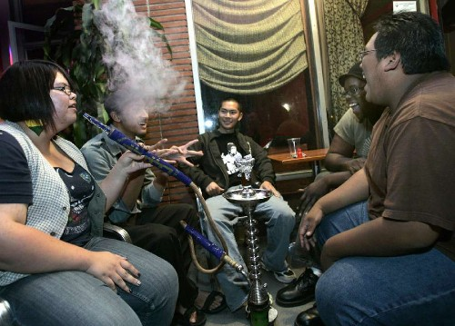 Study: Hookah use up among teens, especially white males with money - Los Angeles Times