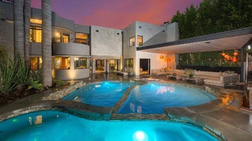 Glam rocker Adam Lambert puts Hollywood Hills home back up for sale