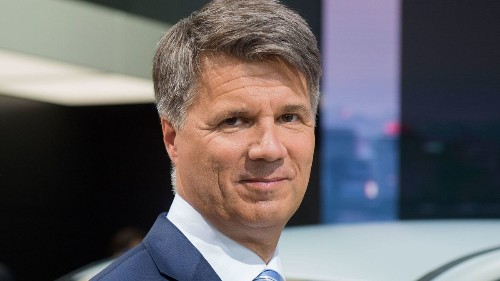Slow transition to electric cars dooms BMW chief Harald Krueger