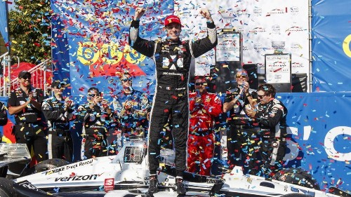 Simon Pagenaud wins IndyCar Series race in Toronto