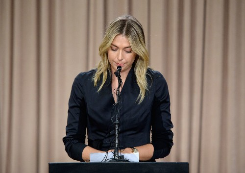 Maria Sharapova is one of nearly 100 athletes caught taking meldonium this year