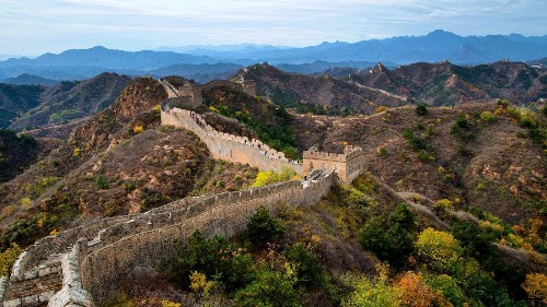 Three ways to see the Great Wall of China, two much greater than the other