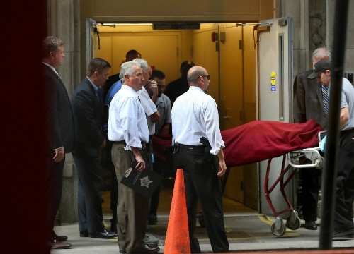 Gunman in downtown Chicago office shooting was high-ranking executive