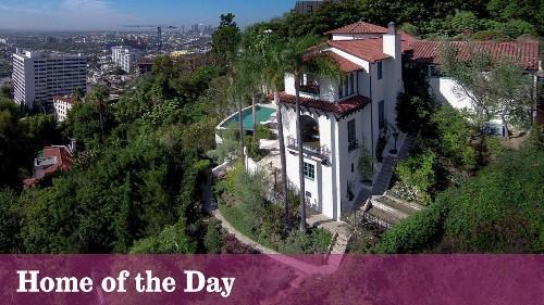 Home of the Day: Robert Finkelhor-designed Spanish Revival above Sunset