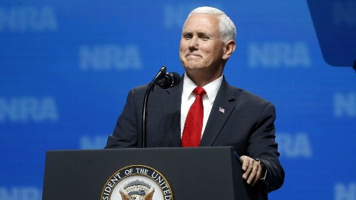 Mike Pence won't get booted from the GOP 2020 ticket - Los Angeles Times