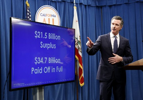 Some guys have all the luck. Just ask California Gov. Gavin Newsom