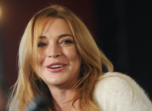 Lindsay Lohan's new fashion collaboration takes fringe to the max - Los Angeles Times