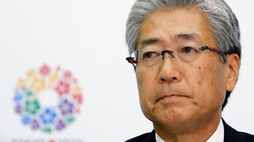 Embattled head of Japan's Olympic committee resigns ahead of 2020 Summer Games