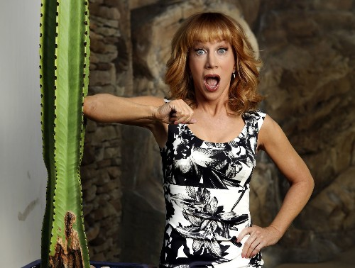 Kathy Griffin to step into Joan Rivers' high heels on 'Fashion Police' - Los Angeles Times