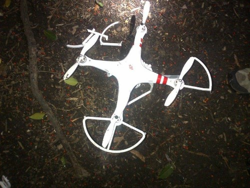 Drone crashes at White House; its operator contacts Secret Service