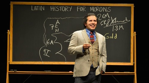 John Leguizamo took another unusual 'Road to Broadway' with 'Latin History for Morons' - Los Angeles Times