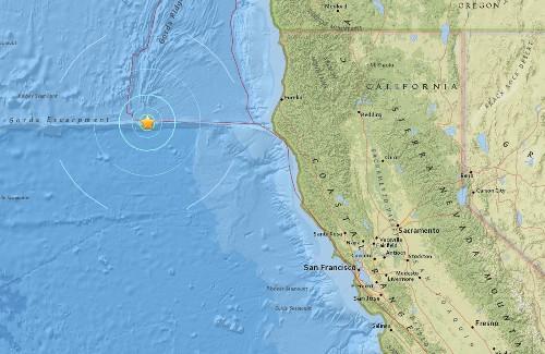 Earthquake: 5.5 quake strikes off Northern California coast