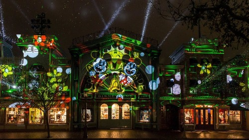 Mickey Mouse, get your rave on — Disneyland's new show is a laser-blasting dance party