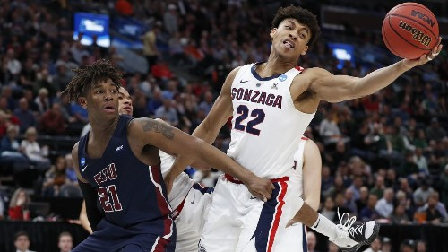 NCAA tournament: Gonzaga rolls past Fairleigh Dickinson in first round