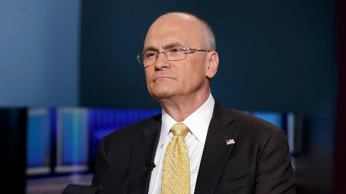 Andy Puzder is stepping down as CEO of Carl's Jr. parent firm CKE