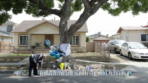Grief and questions linger after producer DJ Official is shot and killed in South L.A.