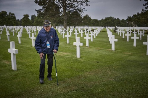 U.S. veterans find a warm welcome in Normandy 75 years after D-day
