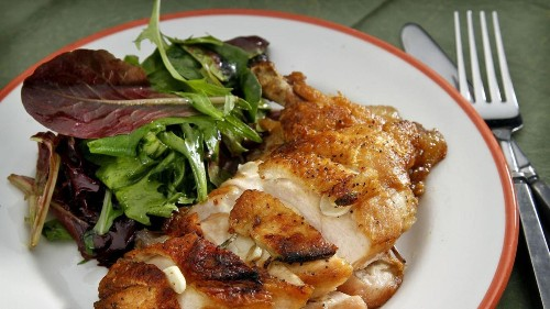 How to make that crispy flattened chicken from the legendary Campanile - Los Angeles Times