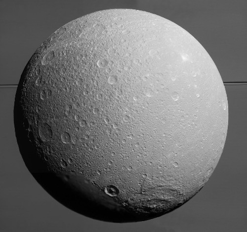 Cassini: Dione delights in new images of Saturn's icy moon - Los Angeles Times
