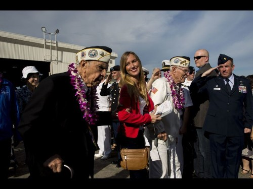 75 years after the Pearl Harbor attack, ceremonies and a push to capture survivors' stories