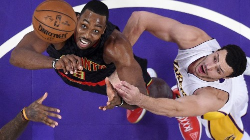 Lakers' backup plan pans out in 109-94 victory over the Hawks