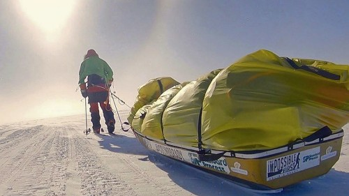Oregon man becomes the first to traverse Antarctica alone and unaided
