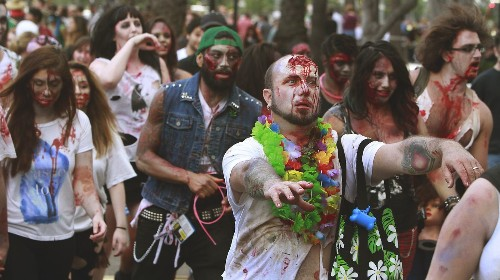 Zombie Walk canceled at this year's Comic-Con - Los Angeles Times