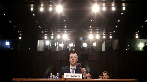 Facebook CEO Mark Zuckerberg shows support for the idea of regulation — but not the particulars
