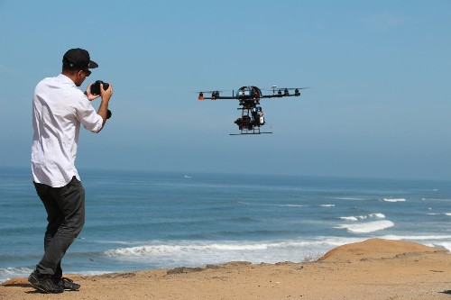 Demand surges for drones on film and TV sets