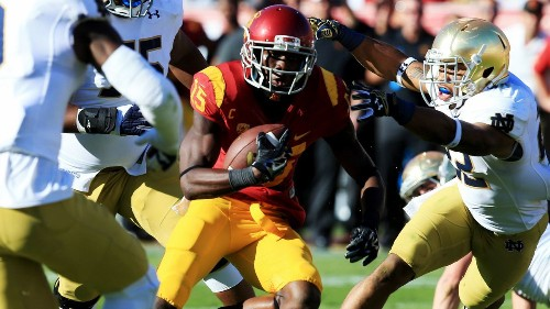 Cody Kessler and USC beat the fight right out of Irish in 49-14 romp