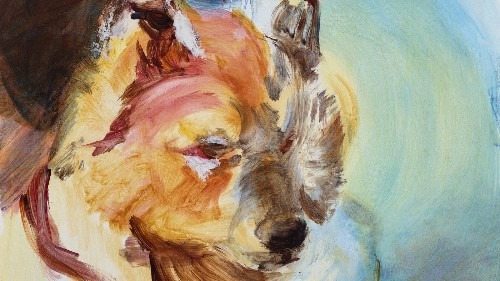 Painter M.A. Peers on Soviet space dogs, beater Christmas trees and what art can learn from dogs