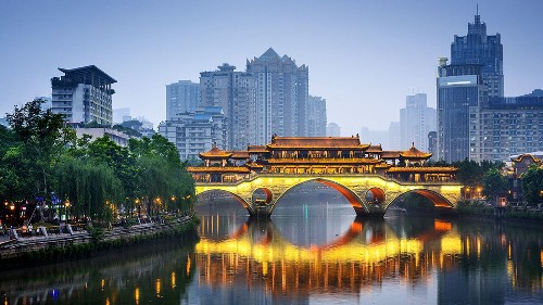 Round-trip fare from LAX to Chengdu, China, home of the giant panda, for $474 on Hainan