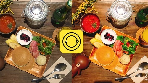This new camera app was made especially for food photos