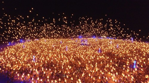 Ready to let your dreams fly? Check out the Rise Lantern Festival near Las Vegas - Los Angeles Times