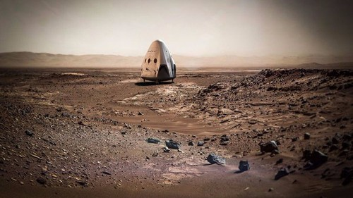 SpaceX will spend $300 million on Red Dragon Mars mission, NASA says - Los Angeles Times