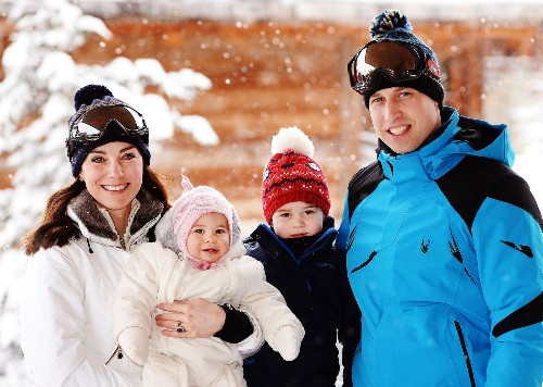 Prince William, Catherine and kids snowball the cuteness in new ski trip photos